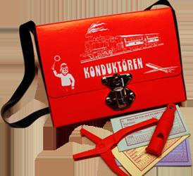 leksak - konduktörsväska